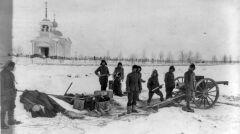 Amerykanie cierpieli z powodu zimna i braku zaopatrzenia. Północna Syberia, 20 maja 1919 roku
