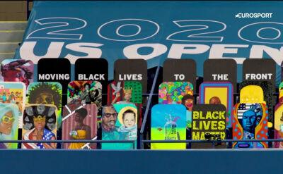 Tenisiści walczą z rasizmem. Black Lives Matter podczas US Open
