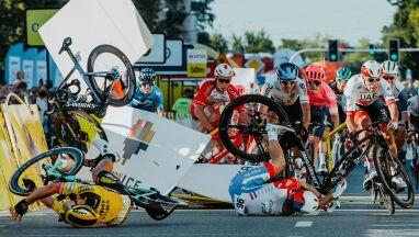 Sprawca koszmarnego wypadku w Tour de Pologne znalazł się na mentalnym zakręcie