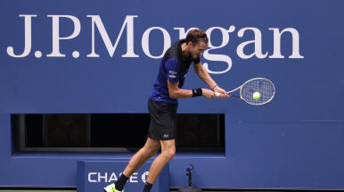 Rosyjski ćwierćfinał US Open dla Miedwiediewa