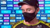 Hamilton po wygraniu 4. etapu Tirreno-Adriatico
