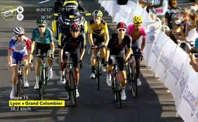 Ogromne straty Bernala na 15. etapie Tour de France