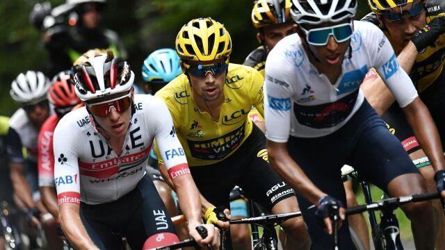 """Froome pod wrażeniem """"latających"""" Słoweńców. """"Zupełnie inny Tour de France"""""""