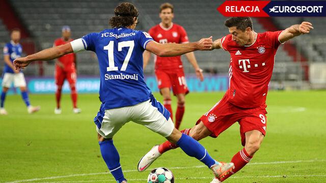 Bayern - Schalke 8:0 [RELACJA]