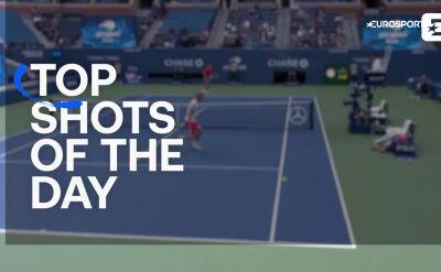 Najlepsze zagrania ostatniego dnia US Open