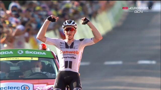 Andersen wygrał 19. etap Tour de France