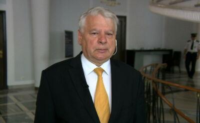 """""""Myślę, że dzisiaj wokół Sejmu także będzie bardzo głośno i gorąco"""""""