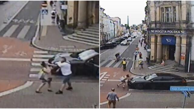 Wysiadł z auta i zaatakował pieszą  na pasach. 35-latek usłyszał wyrok