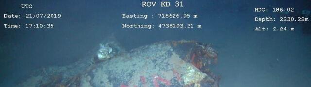 Dwa kilometry pod wodą, rozbita na trzy części. Po pięćdziesięciu latach znaleźli Minerwę