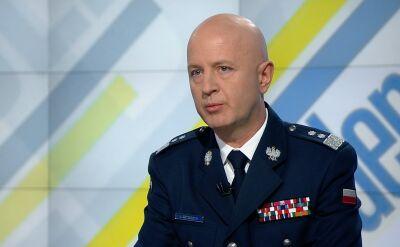 Szymczyk: główny ciężar uderzenia chuligańskich ataków wzięli na siebie policjanci