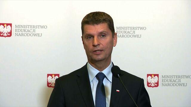 Dariusz Piontkowski, minister edukacji