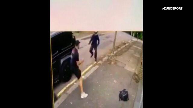 Piłkarze Arsenalu zostali zaatakowani. Sead Kolasinac przegonił agresorów