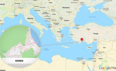 Do wypadku autokaru z Polakami doszło pod tureckim Kemer