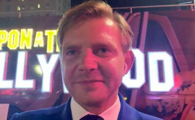 """Cała rozmowa z Rafałem Zawieruchą o filmie """"Pewnego razu w Hollywood"""""""