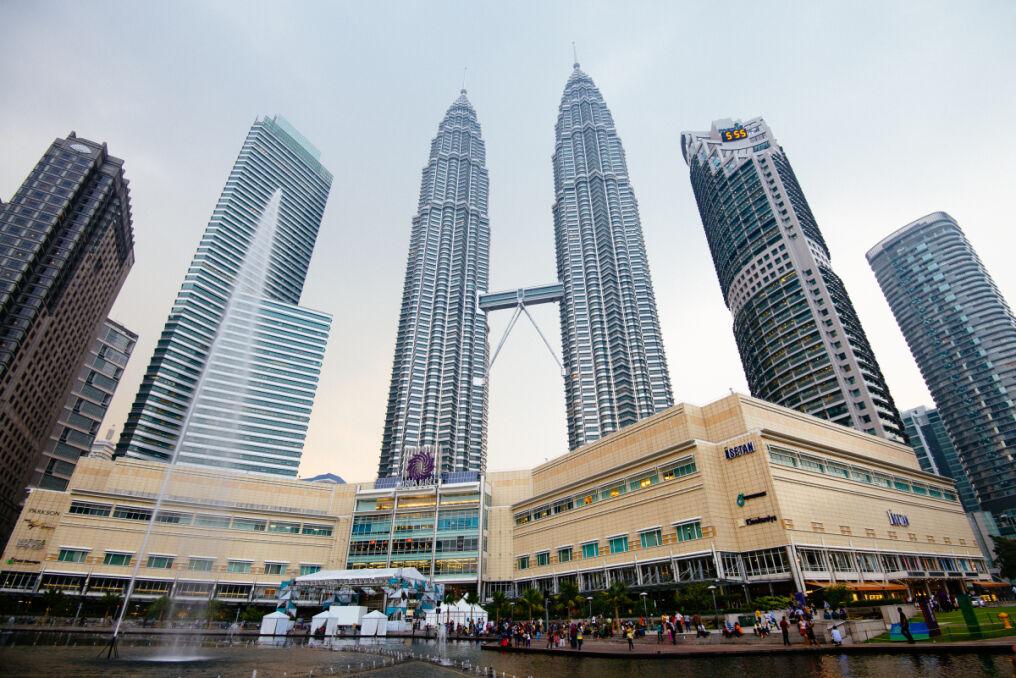 Petronas Towers w Kuala Lumpur