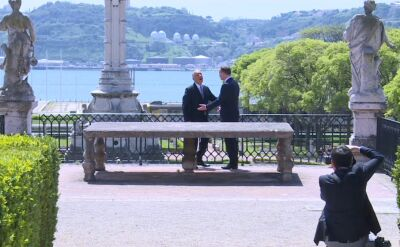 Prezydenci Portugalii i Polski