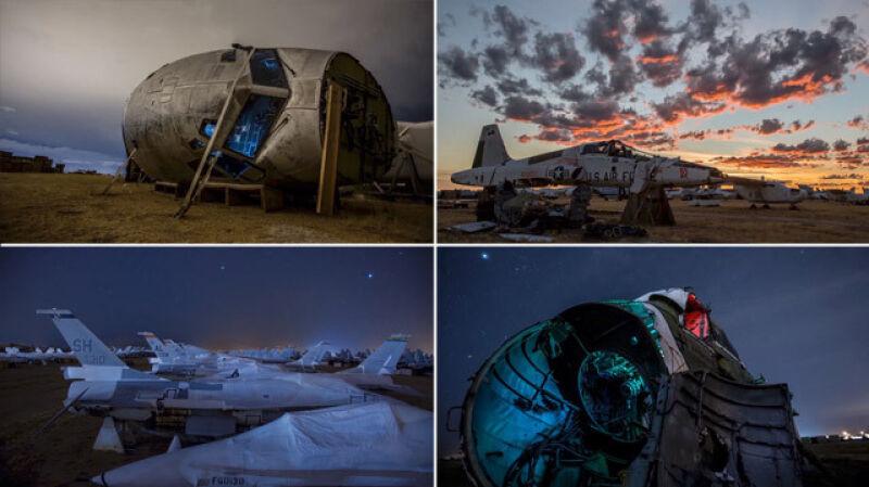 Cmentarzysko samolotów amerykańskiego wojska