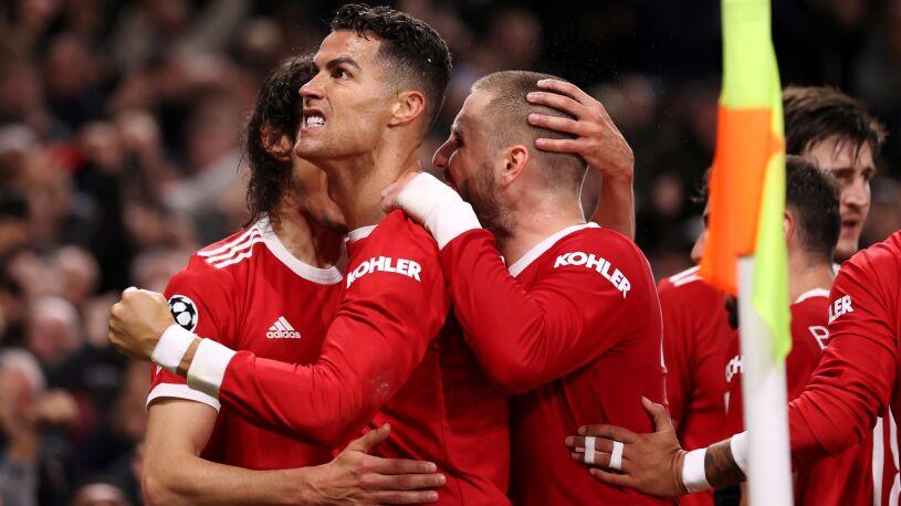 Pościg i pięć goli w Manchesterze.  Ronaldo znów bohaterem