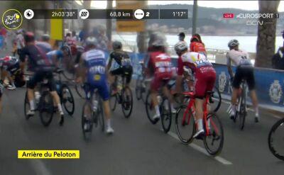 Nerwowo w peletonie. Kolejna kraksa na 1. etapie Tour de France