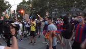 Kolejny protest kibiców Barcelony po decyzji Messiego