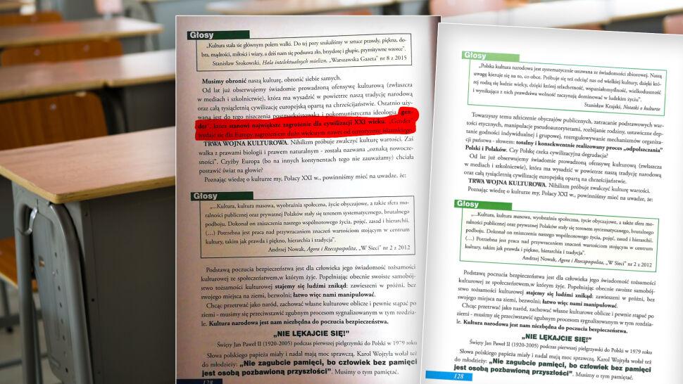 """""""Ideologia gender"""" i """"wojna kulturowa""""  w podręczniku dla licealistów"""