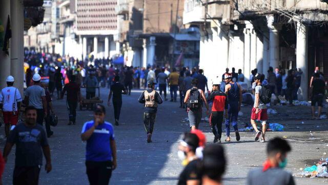 Irackie służby znów otworzyły ogień do demonstrantów. Zginęło 10 osób