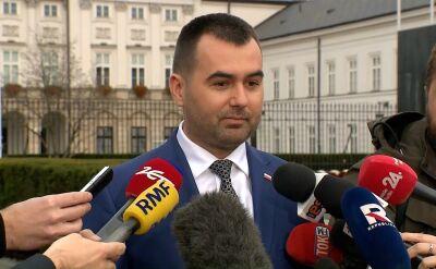 Spychalski: prezydentowi zależy, by ci, którzy mają być sędziami TK gwarantowali, że autorytet TK będzie coraz większy
