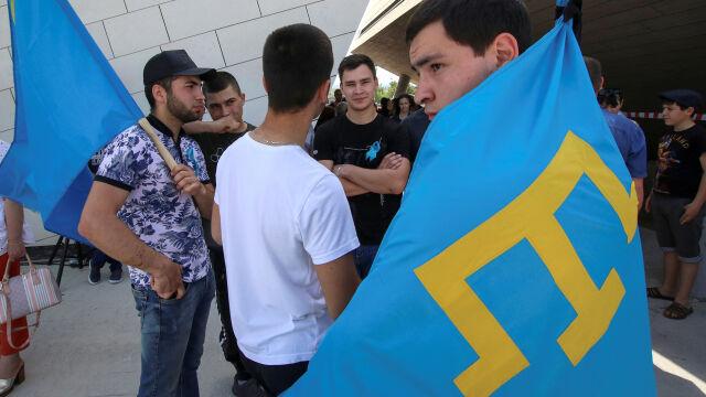 Krymscy aktywiści skazani na kolonię karną za