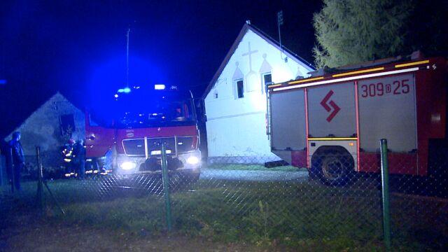 W pożarze zginął 43-latek. Jego rodzicom udało się ewakuować