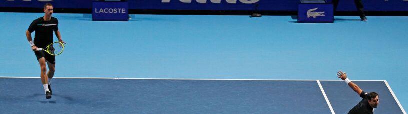 Znakomity początek ATP Finals. Kubot zakończył mecz asem
