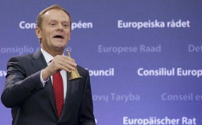 Tusk do Rompuya: Jestem chyba twoim największym wielbicielem w Europie