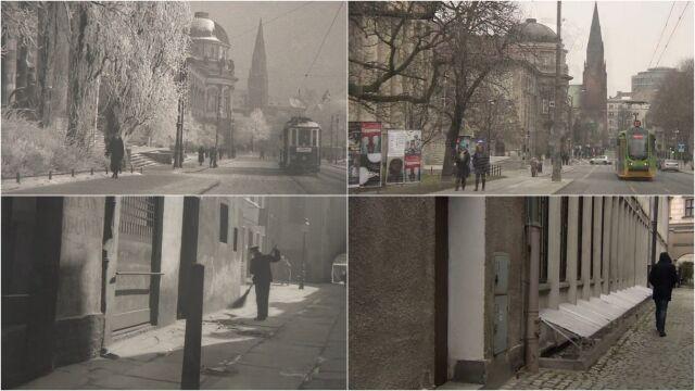 7e2efc41 Archiwalne zdjęcia Poznania autorstwa Ernsta Stewnera przeleżały przez lata  zakurzone w szafach. Zbiór około 2000 negatywów został odkryty wiosną 2010  r. w ...