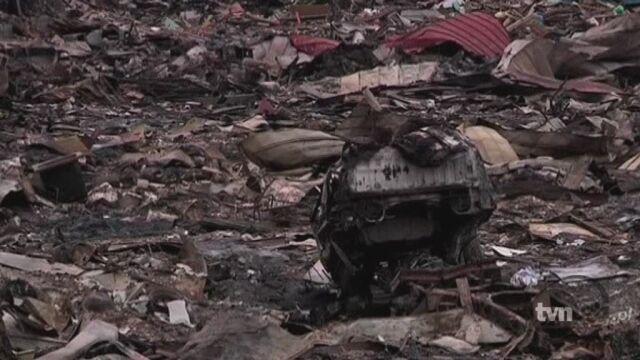 Miasto Otsuchi po piątkowym trzęsieniu ziemi (Reuters)