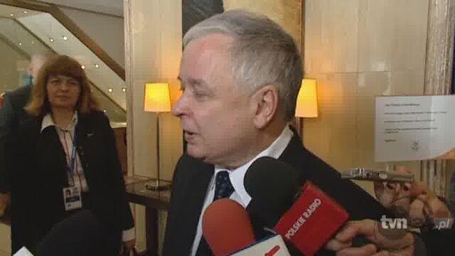 Lech Kaczyński: uroczyście oświadczam niczego takiego nie powiedziałem