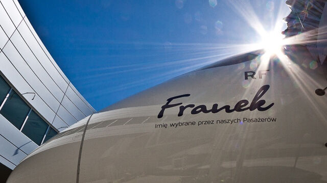 "Oto ""Franek"" - szósty dreamliner we flocie LOT-u"