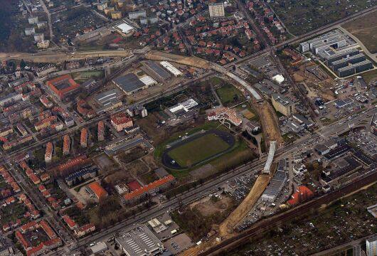 PKM łączy się z SKM w okolicach przystanku Gdańsk-Zaspa