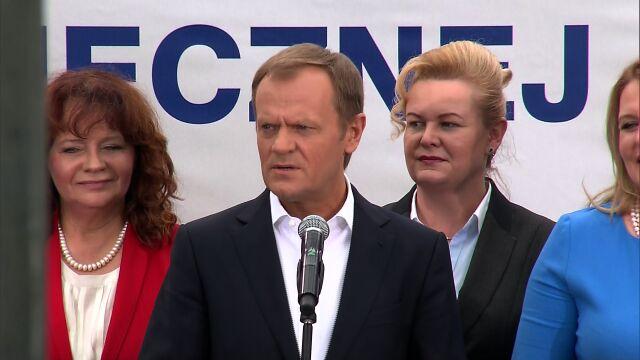 Tusk: dobrze, że Polacy martwią się Ukrainą