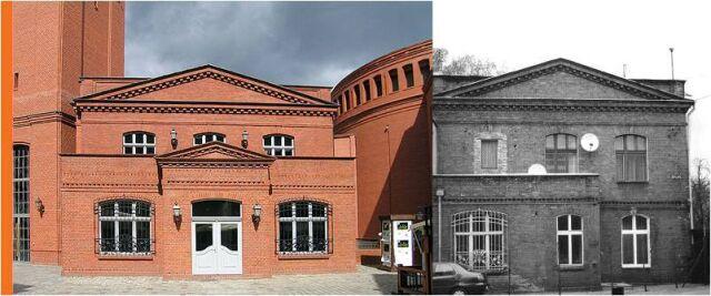 Do istniejących budynków dobudowano nowe elementy