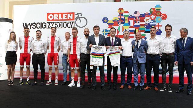 Orlen Wyścig Narodów: Polska drużyna bez błysku, świetni Francuzi