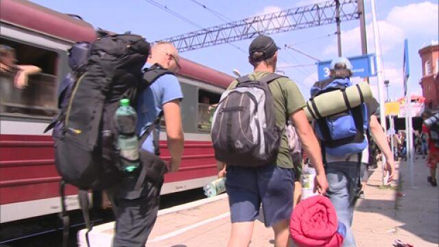 Nie będzie specjalnych pociągów na Pol'and'Rock Festival. Owsiak: Decyzja kompletnie niezrozumiała