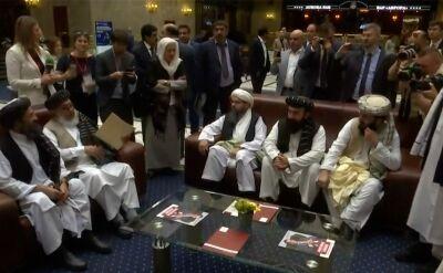 Talibowie i afgańska opozycja prowadzili rozmowy pokojowe w Moskwie