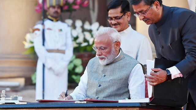 Rząd Modiego rozpoczyna drugą kadencję