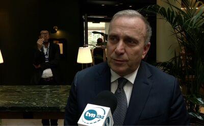 Grzegorz Schetyna o przyszłości Koalicji Europejskiej