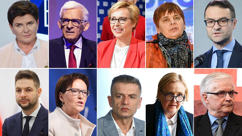 Najlepszy wynik w skali kraju osiągnęła Beata Szydło z PiS