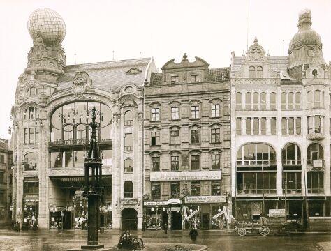 Dom handlowy braci Barasch w 1905 roku