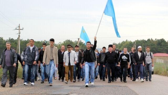 Rosjanie aresztują Tatarów krymskich