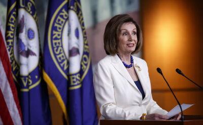 Pelosi: stawką w sprawie impeachmenu Trumpa jest demokracja