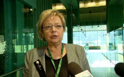 Małgorzata Gersdorf zwróci się z apelem do sędziów Izby Dyscyplinarnej
