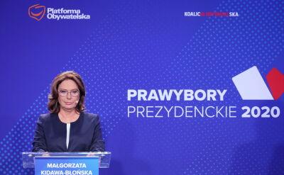 Kidawa-Błońska: sam anty-PiS nie wstarczy, trzeba z ludźmi rozmawiać