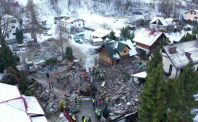 Wybuch gazu i pożar. W gruzowisku znaleziono osiem ciał